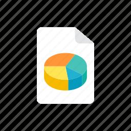 file, stats icon