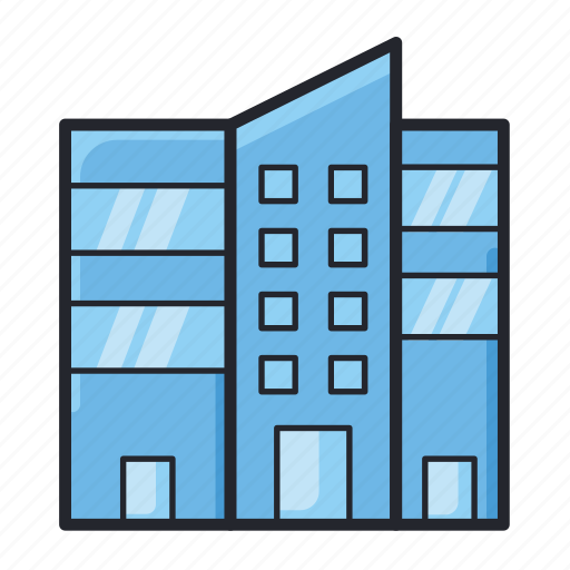 architecture, building, city, construction, house, office, real estate icon