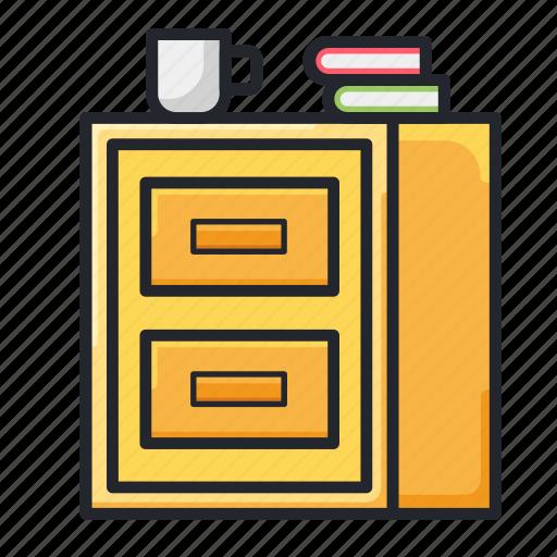 cabinet, cupboard, drawer, drawers, office, storage, wardrobe icon