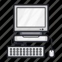 computer, desktop, device, hardware, pc, technology icon