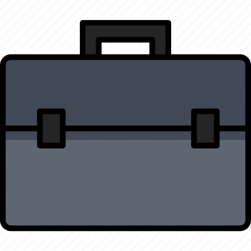 bag, briefcase, business, equipment, office, work icon
