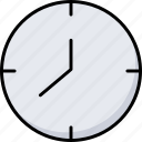 alarm, clock, date, event, schedule, time, watch icon
