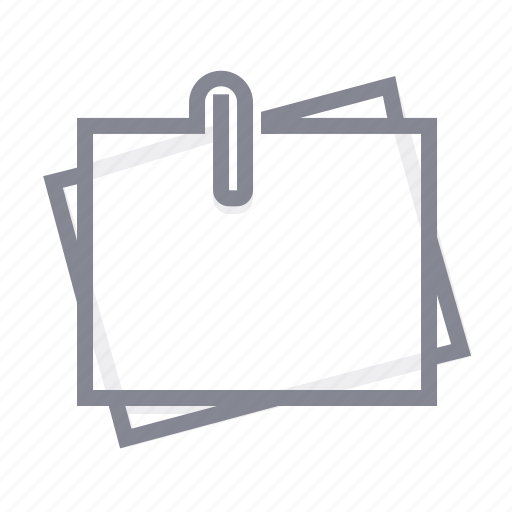 business, note, office, sticker, tip icon