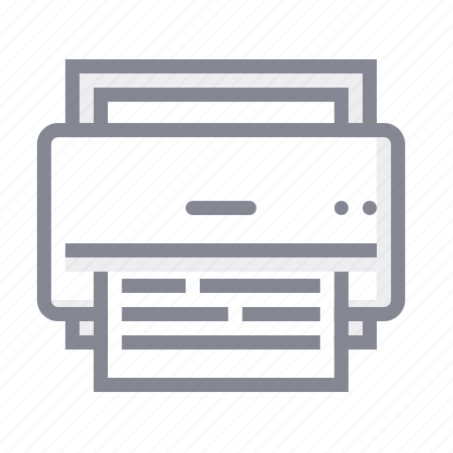business, fax, office, printer, scaner icon