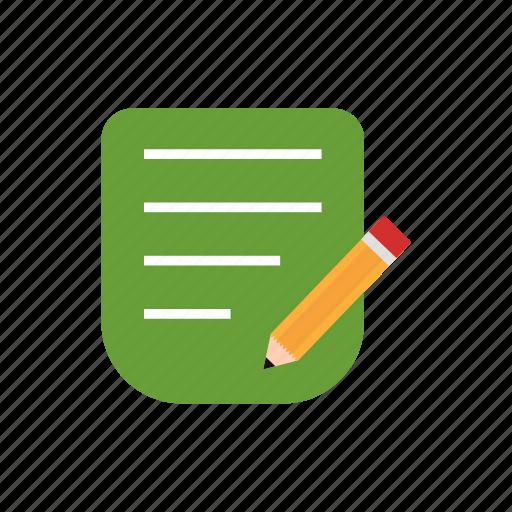 corrector, edit, pencil icon