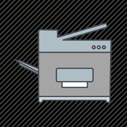 copy, machine, photostat icon