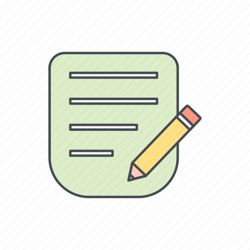 corrector, edit, pencil icon