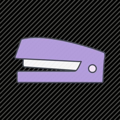 clip, office, stapler icon