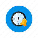 alarm, clock, deadline, design, time's up, wake up icon