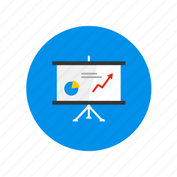 analyze, board, design, graphic, review, statistics icon