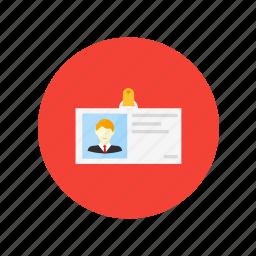 cv, data, description, design, personal icon