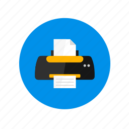 design, device, hardware, output device, print, printer icon