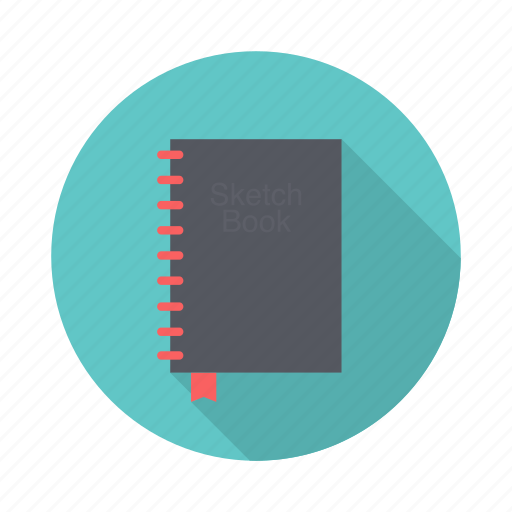 book, paper, sketch, write icon