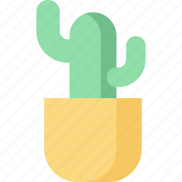 cactus, decoration, flower, growth, nature, office, plant icon