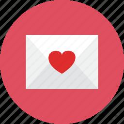 letter, love icon