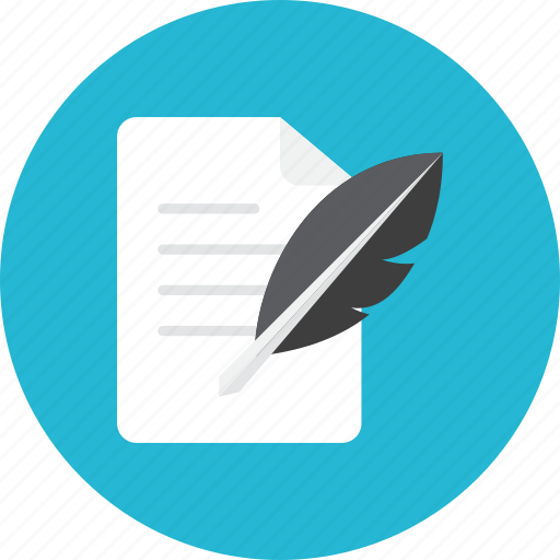 Paper, quill icon | Icon search engine
