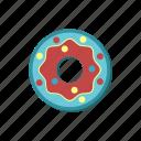 bagel, bun, donat, donut, doughnut, dunker, pastry icon