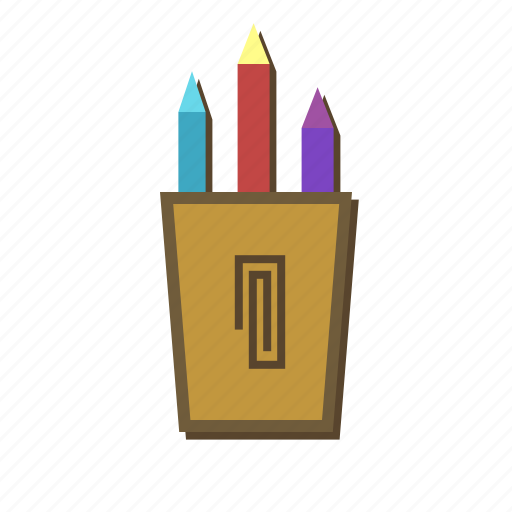 holder, mark, pain, pen, pencil, tool, write icon