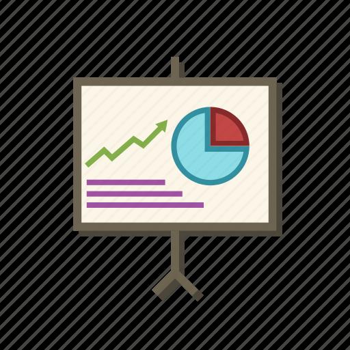 chart, diagram, graph, office, presentation, scheme, tabulation icon