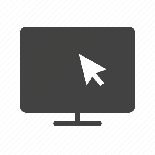 lcd, monitor, screen, television, tv, wall icon