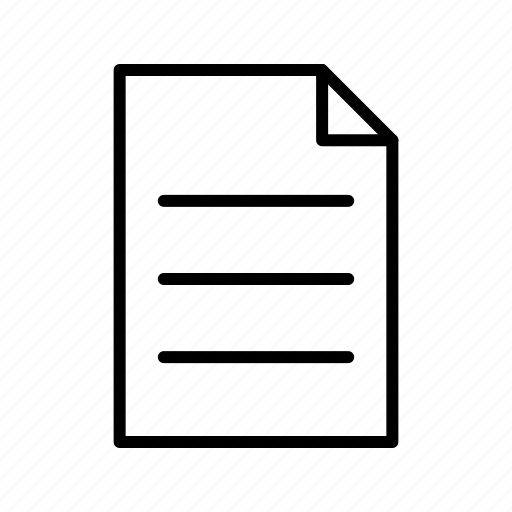 paper, post it, reminder icon