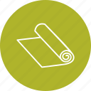 document, paper, printing, roll icon