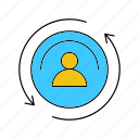 profile, person, avatar, user icon