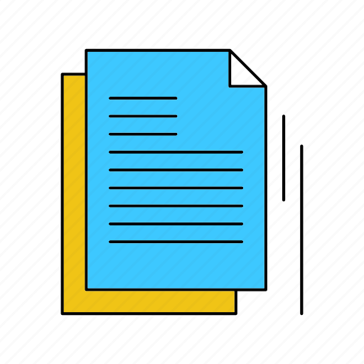 Document, file, format, type icon - Download on Iconfinder