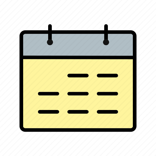 calendar, event, schedule icon