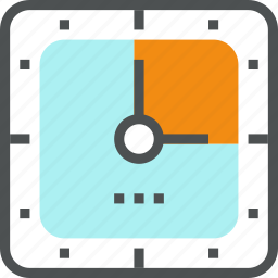 business, busy, clock, deadline, management, time, work, worktime icon