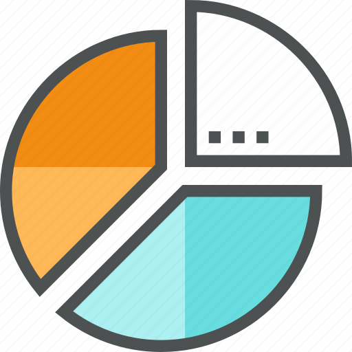 business, chart, corporate, diagram, pie, report, shares, statistics icon