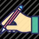 agreement, autograph, sign, signature, vote signature icon