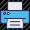 facsimile, fax, hardware, output device, printer