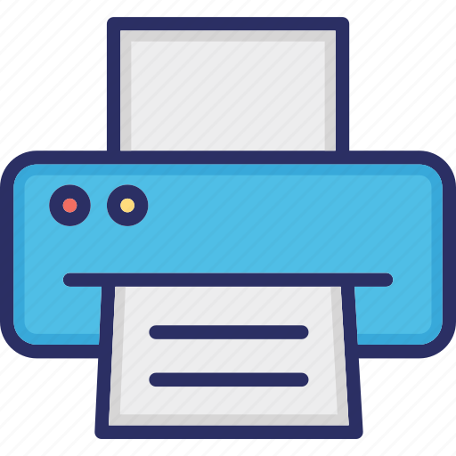 Facsimile, fax, hardware, output device, printer icon - Download on Iconfinder