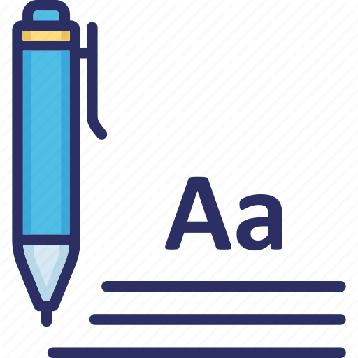 Copywriting, document, script writing, writing pad icon - Download on Iconfinder