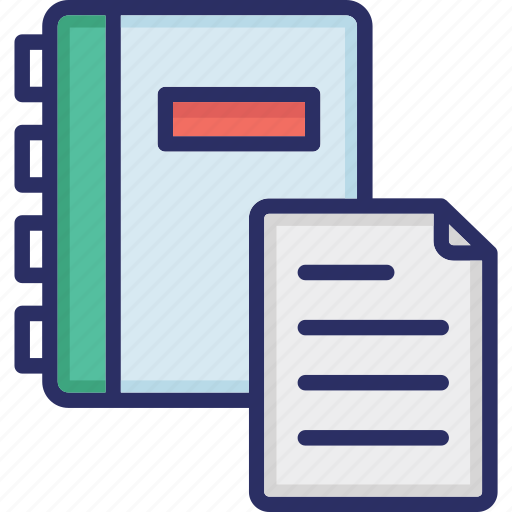 Business document, document, folded paper, page, writing paper, writing papers icon - Download on Iconfinder