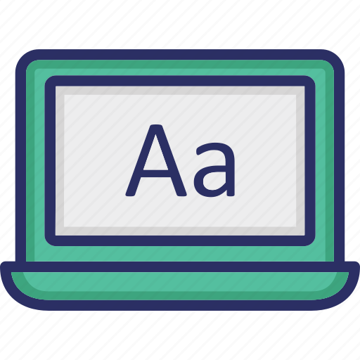Copywriting, font awesome, inpage writing, online writing, script writing icon - Download on Iconfinder