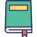book, knowledge, reading book, rule book, text book icon