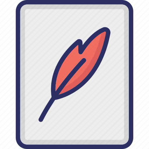 Document, paper and pencil, script writing, vintage writing, writing pad, writing paper icon - Download on Iconfinder