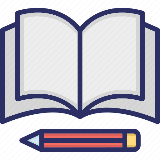 Copywriting, education concept, stationary, workbook, writing book, writing tools icon - Download on Iconfinder
