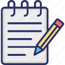 copywriting outline fill with color isolated vector icon which can be easily modified or edited icon