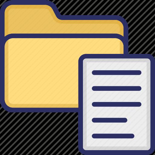 archives, binders, files, folder, office folder icon