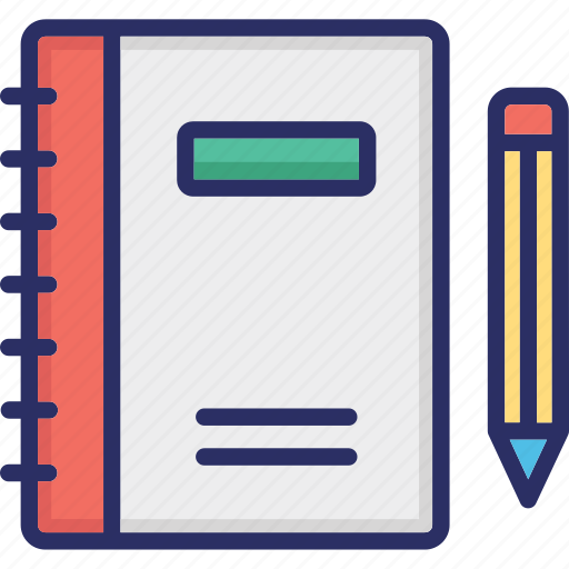 Copywriting, document, paper and pencil, script writing, writing pad, writing paper icon - Download on Iconfinder