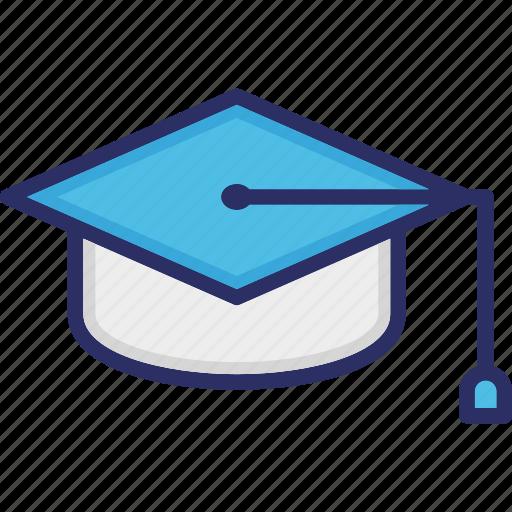 Education concept, graduate person, graduation cap, mortar cap, student cap icon - Download on Iconfinder