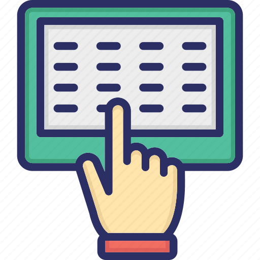 Computer engineering, computer sciences, computing, information technology, input device, keyboard, typist icon - Download on Iconfinder