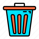 bin, business, material, office, stationery