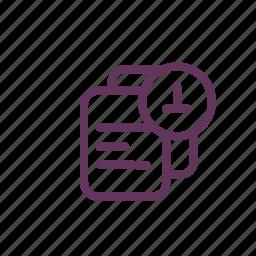 download, file, files, offline icon