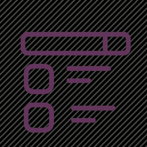 browser, checklist, code, files, folder, todo, treeline icon