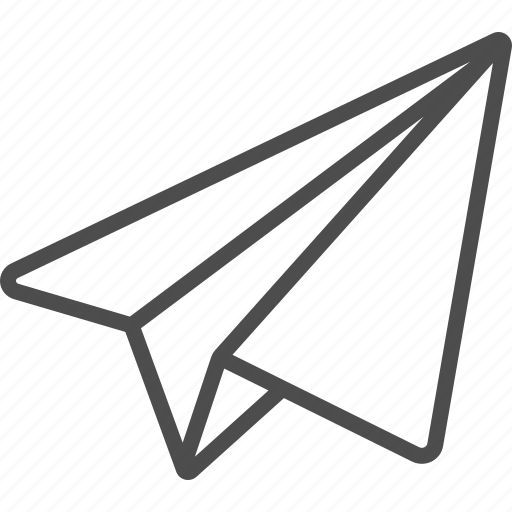 Airplane, paper, paper plane icon - Download on Iconfinder
