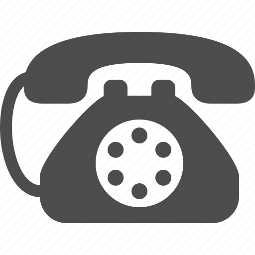 handset, landline, phone, telephone icon